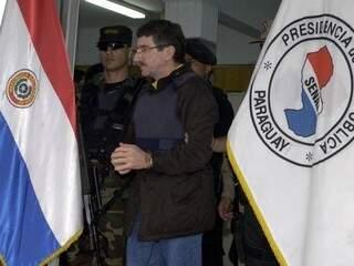 Em 2004, Mendes Mesquita foi extraditado para os EUA. (Foto: ABC Color)