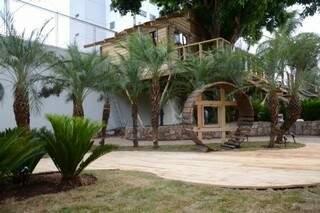 """Da mostra de 2012: """"Casa da Árvore"""", dos paisagistas Lilian Basso e Marcus Antônio Medina. (Foto: Arquivo/Minamar Junior)"""