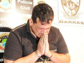 Rapaz chorou durante apresentação e disse que precisa de tratamento (Foto: Rodrigo Pazinato)