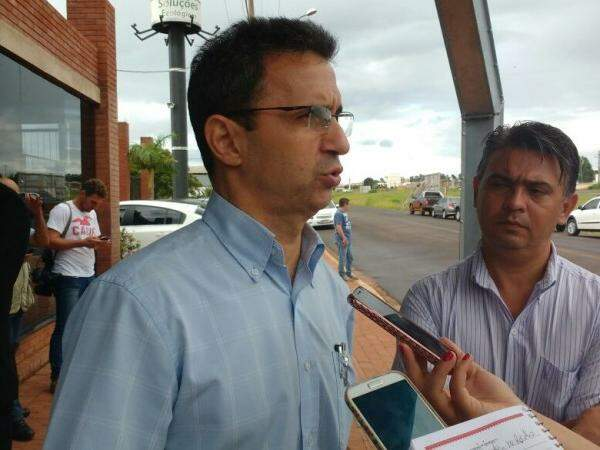 Secretário Luis Fernando falou sobre o projeto hoje. (Foto: Yarima Mecchi)