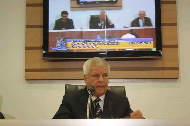 Apenas Edil, que preside a Comissão Processante, não participou de deliberação sobre cassar Bernal (Foto: Marcos Ermínio / Arquivo)