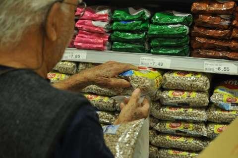 Feijão, leite e derivados pressionaram a inflação da Capital em julho