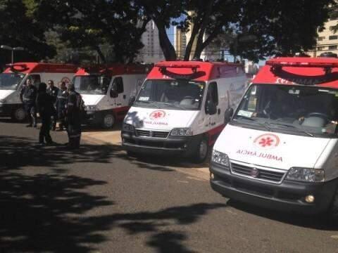 Ambulâncias foram repassadas pelo Ministério da Saúde. (Foto: Arquivo)