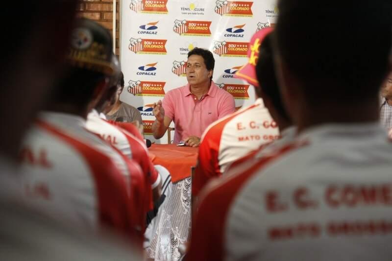 Amarildo aposta ter montado o melhor time do Comercial dos últimos anos (Foto: Cleber Gellio)