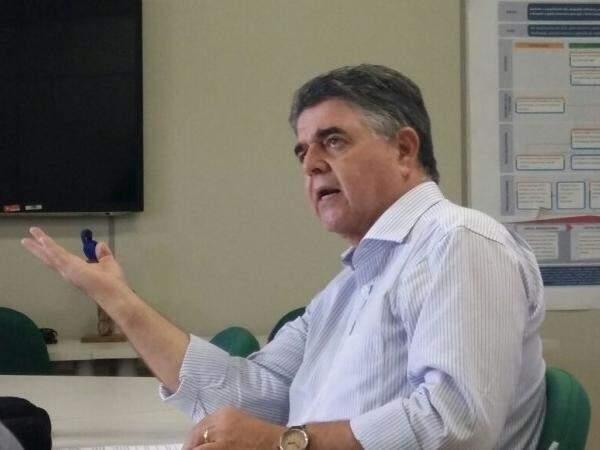 Márcio Monteiro em entrevista ao Campo Grande News (Foto: Priscilla Peres/ Arquivo)