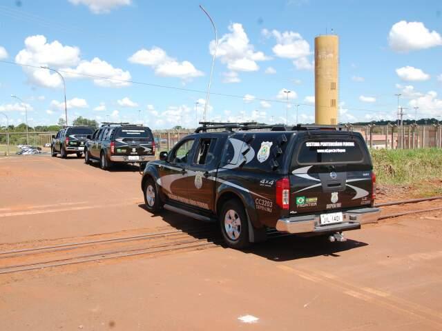 Com a chegada deles o presídio passa a ter 129 internos.(Foto: Fernando da Mata)