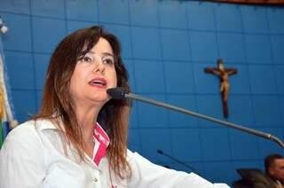 Mara Caseiro, presidente da comissão de saúde, diz que reunião foi adiada porque proposta não foi definida (Foto: Leonardo Rocha - Arquivo)