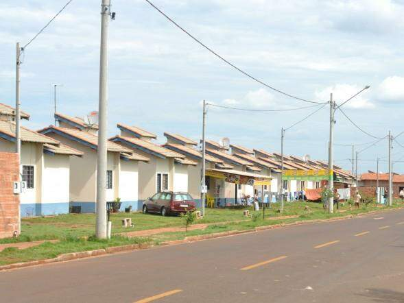 Casas populares construídas nas Moreninhas (Foto: Arquivo)