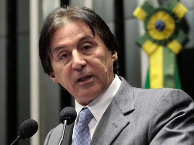 Eleição de Eunício já era dada quase como certa pela bancada que o apoia, no ano passado (Foto: Luiz Alves/Agência Senado)