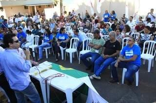 Greve de servidores da UFMS tem 50% de adesão, segundo sindicato. (Foto:Marcos Ermínio)