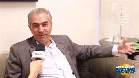 """MS será mais """"enxuto"""" e saúde segue como prioridade, diz Reinaldo"""