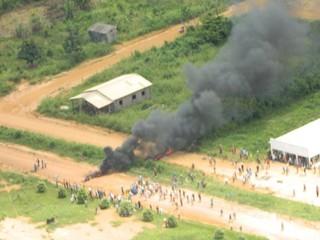 Área de conflito em Rondônia. (Foto: Alerta Notícias)