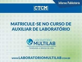 Multilab forma Auxiliar de Laboratório para o mercado de trabalho
