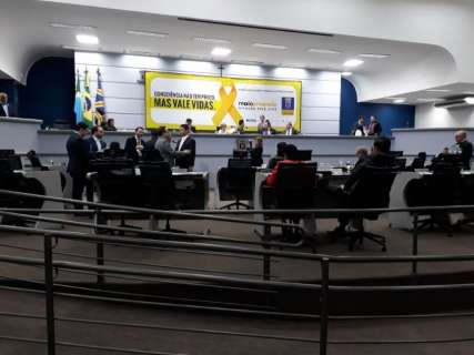 Vista a projeto do Prodes tranca pauta da Câmara Municipal