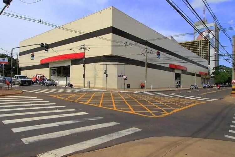 Shopping tem área construída de 4.465 metros quadrados (Foto: Arquivo)