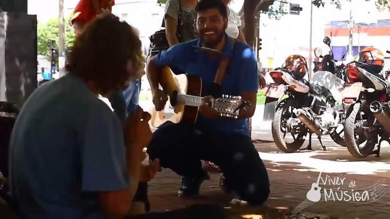 """Tem de ter coragem para encarar um """"The Voice"""" no Centro de Campo Grande"""
