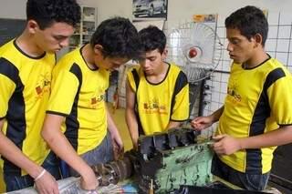 Cidade dos Meninos abriu processo de matrículas para 340 vagas. (Foto: Erich Sacco)