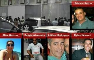 Sete vítimas já foram identificadas (foto: Folha de Dourados)