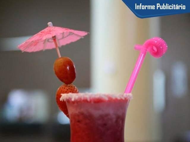 Drinques não tem álcool, criados para servir bem os evangélicos; (Foto: Alcides Neto)