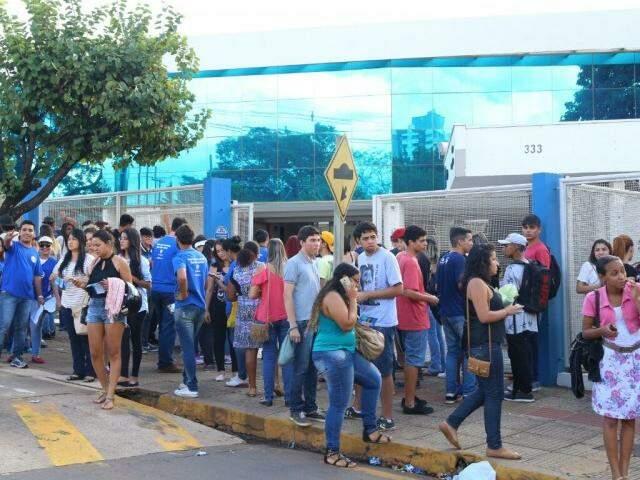 Em Campo Grande, foram 59.071 inscritos (Foto: Marcos Ermínio)