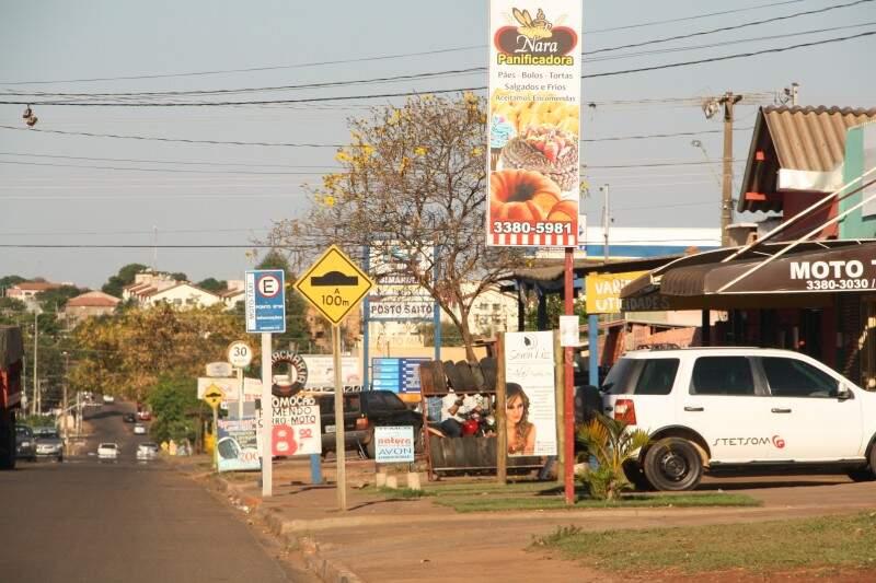 No São Conrado, Avenida tem até ótica e consulta com oftalmologista (Foto: Marcos Ermínio)