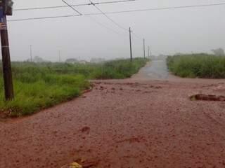Alagamentos ocorrem sempre que chove forte, afirma morador (Foto: Divulgação/Augusto Costa)