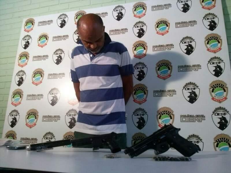 Ex-policial, com extensa ficha criminal, executou chacina para vingar briga em bar (Foto: Simão Nogueira)