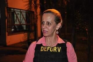 Delegada Maria de Lourdes desvendou o caso (foto: João Garrigó)