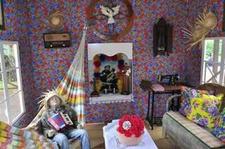 Casa da Roça faz parte das atrações da Festa Junina de Dourados, que começa hoje (Foto: Eliel Oliveira)