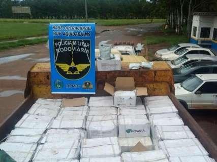 Polícia apreende contrabando de agrotóxico avaliado em R$ 1 milhão