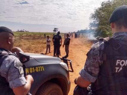Após risco de novo confronto, Tropa de Choque da PM segue para Caarapó