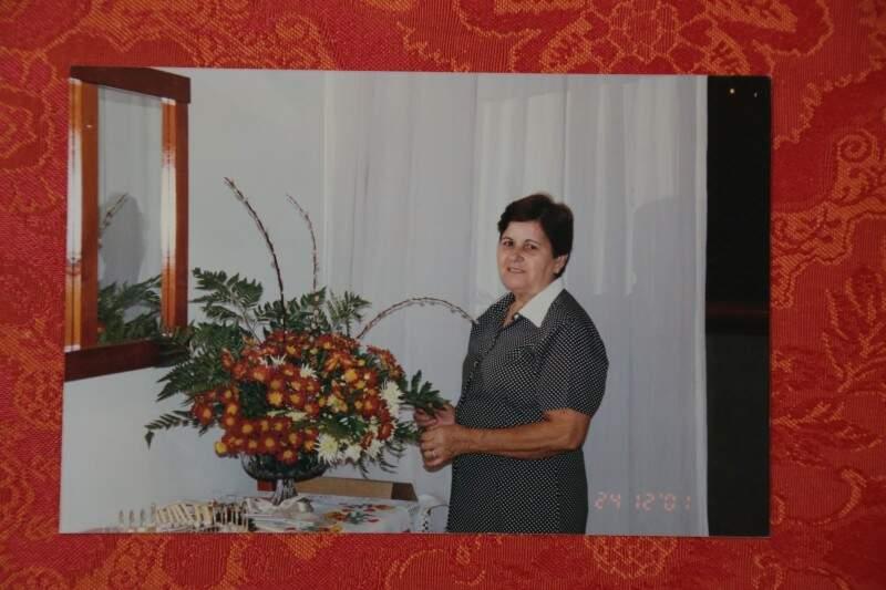 Dona Alice cozinhava para todo mundo e sempre fazia o tradicional tutu de feijão (Foto: Arquivo Pessoal)