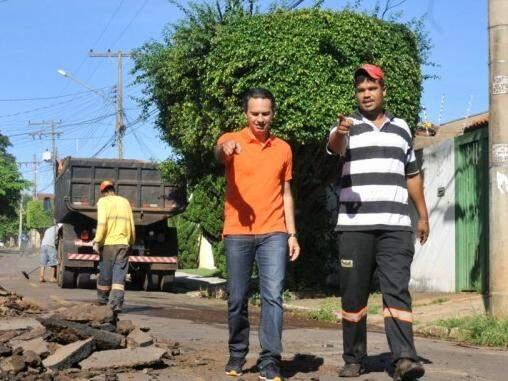 Prefeito de Campo Grande, Marquinhos Trad (PSD). (Foto: Alcides Neto)