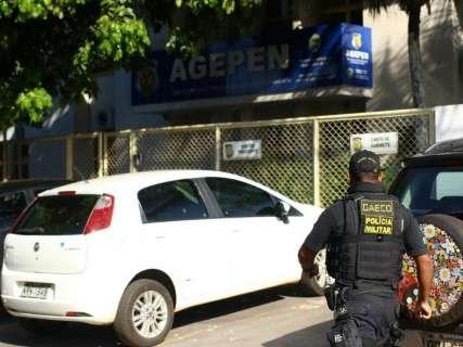 Chaveiro é chamado pelo Gaeco para abrir cofre em agência penitenciária