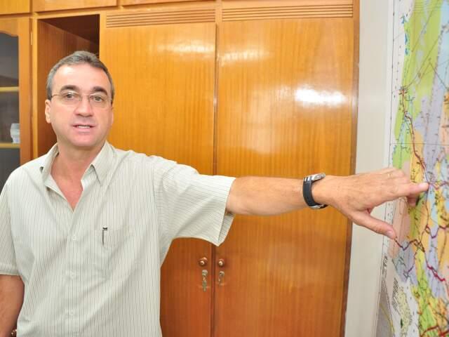 Antônio Carlos trabalha há cinco anos no Dnit. (Foto: João Garrigó)