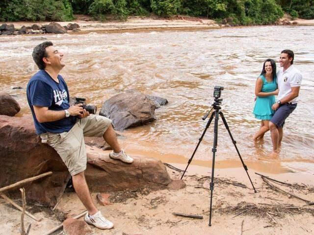 Pedro Stank usa a natureza para fazer ensaio de fotos (Foto: Arquivo pessoal)