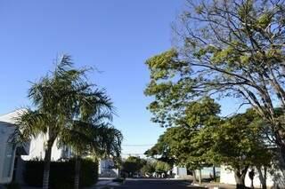 Dia será quente em Campo Grande (Foto: Marcos Ermínio)