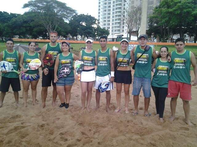 Definidos campeões no Circuito Pantaneiro de Beach Tennis