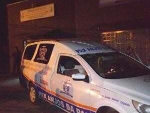 Luciano morreu na hora e segunda vítima continua internada na Santa Casa. (Foto: Direto das Ruas)