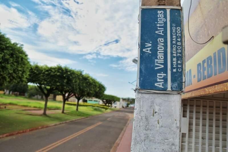 Local onde ocorreu a primeira abordagem (Foto: Fernando Antunes)