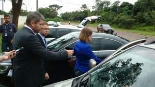 A vereadora prestou depoimento acompanhada de seu advogado (Foto: Yarima Mecchi)