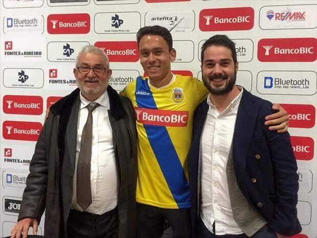 Keirrison defenderá time europeu por um ano e meio (Foto: Divulgação/Arouca)