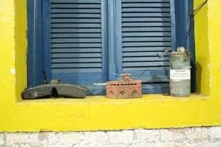 Cada portal, conta através dos objetos, um pouco do que era a ferrovia. Do que um dia foi a Noroeste Brasil.