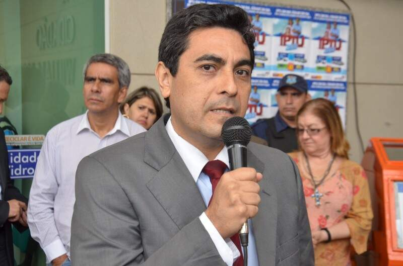 Supersecretário Gustavo Freire desta vez respeitou a convocação da Câmara (Foto: Arquivo/Vanderlei Aparecido)