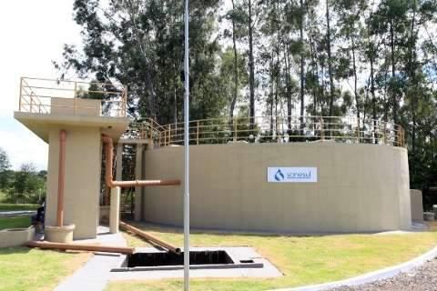 Sanesul investe R$ 3,7 milhões em obras de saneamento  e água