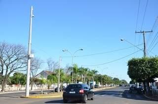 Câmeras são parte de medidas que têm o objetivo de amenizar os impactos gerados pela abertura da UFN3. (Foto: Divulgação/ Prefeitura)