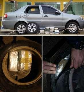 PF investiga dono de oficina acusado de esconder cocaína em veículos