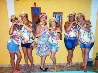 Marlene fez o Baile do Havaí.