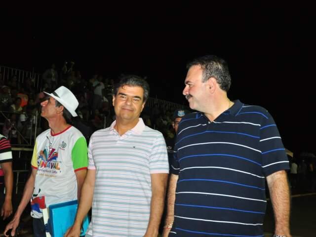 Siufi afirma que suas reclamações foram aprovadas pelo prefeito Nelson Trad durante desfile das escolas de samba de Campo Grande(Foto: João Garrigó)