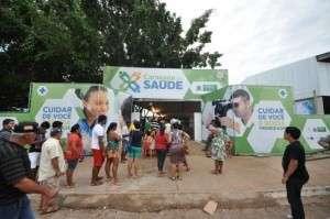 Caravana da Saúde realiza consultas e ações de cidadania em município